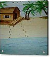 Tranquil Beach Acrylic Print