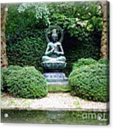 Tranquil Buddha Acrylic Print