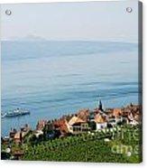 Tranquil Lake Geneva Acrylic Print