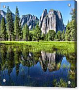Tranquility In Yosemite Acrylic Print