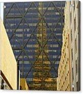 Transamerica Reflection Acrylic Print