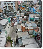 Transformation Of Saigon Acrylic Print