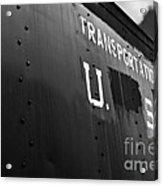 Transportation Corps Car Acrylic Print