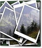 Transylvania Landscape Acrylic Print