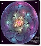 Trapped Blossom Acrylic Print
