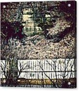 Travel By Train Acrylic Print