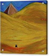 Travelers Desert Acrylic Print