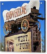 Traveling West Acrylic Print
