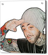 Travie Mccoy Acrylic Print