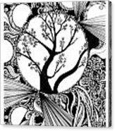 Tree Doodle 58 Acrylic Print