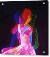Tri-color 3 Acrylic Print