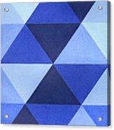 Triangles B8001 Acrylic Print