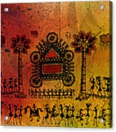 Tribal Gathering Acrylic Print