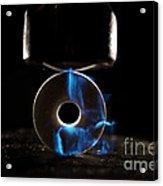 Triboluminescence Acrylic Print