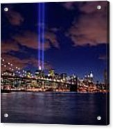 Tribute In Light II Acrylic Print