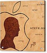 Tribute To Steve Jobs Acrylic Print