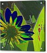 Tricked Leaf Acrylic Print