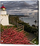 Trinidad Memorial Lighthouse After Storm Acrylic Print