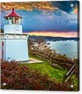 Trinidad Memorial Lighthouse Morning Acrylic Print
