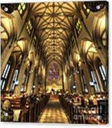 Trinity Church Nyc Acrylic Print