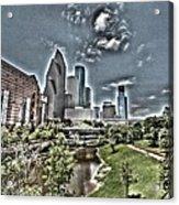 Trippy Houston Acrylic Print