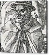 Tristao Da Cunha, Portuguese Explorer Acrylic Print by Middle Temple Library