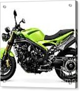 Triumph Speed Triple Motorcycle Acrylic Print