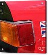 Triumph Tr6 Tail Light Acrylic Print