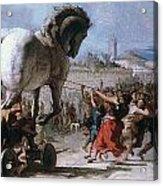 Trojan Horse Acrylic Print