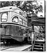 Trolley Car Diner - Philadelphia Acrylic Print