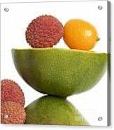 Tropical Fruits Acrylic Print