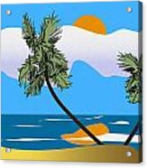 Tropical Outlook Acrylic Print
