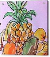 Tropical Snack Acrylic Print