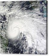 Tropical Storm Ida In The Caribbean Sea Acrylic Print