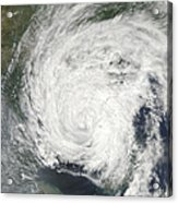 Tropical Storm Muifa Over China Acrylic Print