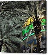 Tropicana Field Entrance Acrylic Print