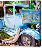 Trouble On Route 66 Acrylic Print