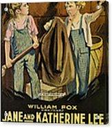 Troublemakers, Jane Lee, Katherine Lee Acrylic Print by Everett