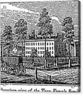 Troy Female Seminary, 1841 Acrylic Print