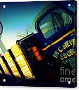 Truck On Route 66 Acrylic Print