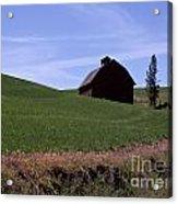 True Country Barn Acrylic Print