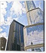Trump Tower Grabs The Sky Acrylic Print