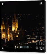 Truro Cathedral Illuminated Acrylic Print