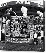 Tub Game Acrylic Print