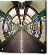 Tube Tunnel Acrylic Print