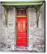 Tucson Red Door Acrylic Print