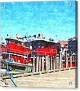 Tugboat Twc Acrylic Print