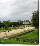 Tuileries Gardens 4 Acrylic Print