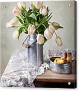 Tulips And Pears Acrylic Print