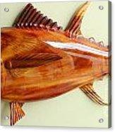 Tuna Sculpture Acrylic Print